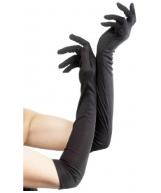 Paire de gants noirs Cat Woman