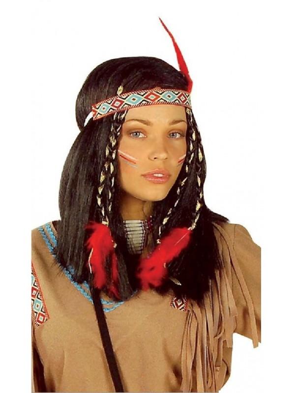 Perruque de femme indienne