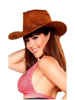 Chapeau de Cow-girl marron