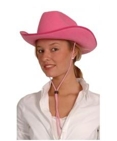 Chapeau de Cow-girl rose
