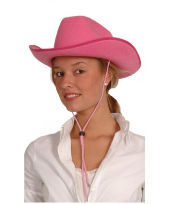 Chapeau de Cow-girl rose