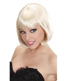 Perruque coupe années 30 blonde