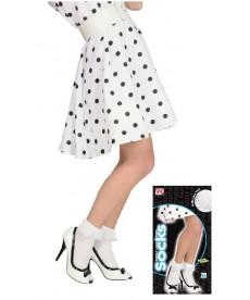 Socquettes blanches à dentelle