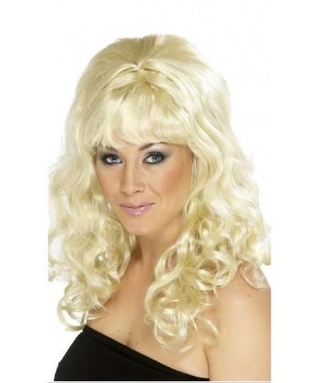 Perruque Sixties femme blonde