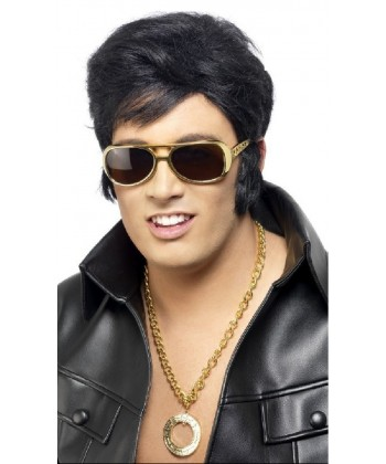 Perruque officielle Elvis