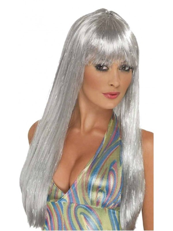 Perruque Disco glitter