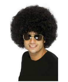 Perruque Afro disco homme
