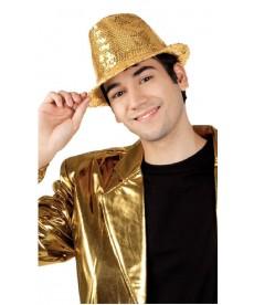 Justin paillettes dorées disco