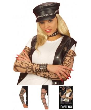 Manches tatouées