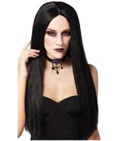 Perruque de Mortissia Addams