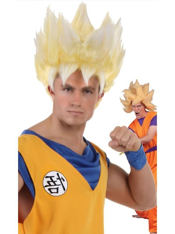 Perruque de Manga blonde