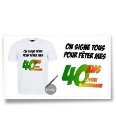"Tshirt ""Cravate 30ans"""