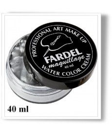 Pot color cream argent
