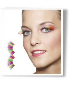 Faux cils lamé Multicolor