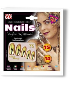 15 Faux Ongles or
