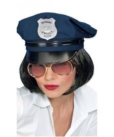 Casquette de policière