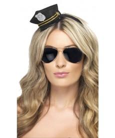 Mini casquette de policière