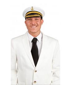 Casquette de capitaine de bateau