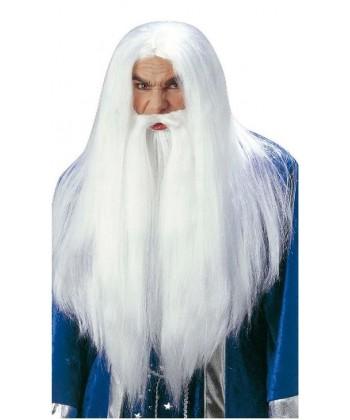 Perruque de Merlin l'enchanteur