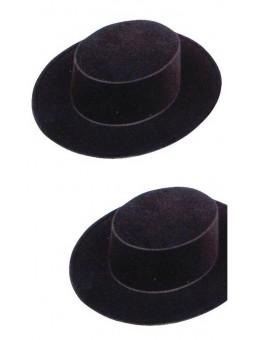 Chapeau espagnol floqué