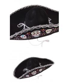 """Sombrero """"Dia de la muerte"""""""
