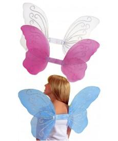 Ailes de papillon assorties